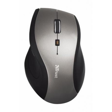 TRUST Myš Sura, USB, černá/šedá, bezdrátová