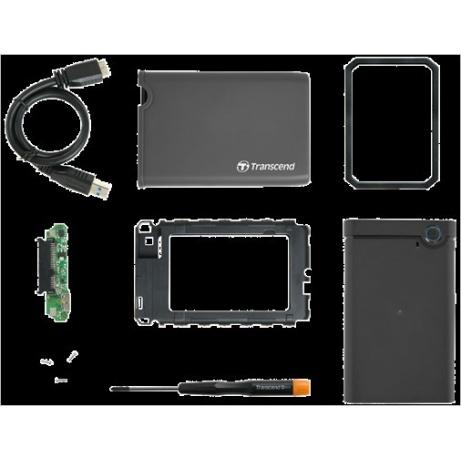 "TRANSCEND SSD/HDD Upgrade Kit for 2,5"" discs, USB 3.0"