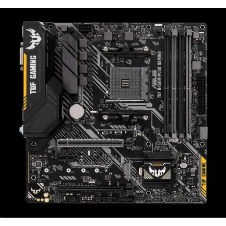 ASUS MB Sc AM4 TUF B450M-PLUS GAMING, AMD B450, 4xDDR4, VGA, mATX