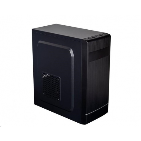 EUROCASE skříň ML X301 black, micro tower, 2x USB 2.0, bez zdroje