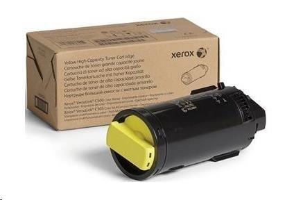 Xerox Yellow High Capacity Toner Cartridge pro The VersaLink C500/C505 (5 200 PAGES)