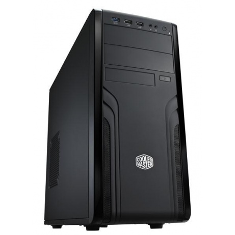 COOLER MASTER Force 500 - skříň, ATX, black, USB3.0, bez zdroje