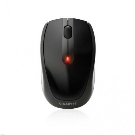 GIGABYTE Myš Mouse GM-M7580, Wireless, Optical, USB mini receiver, 1000/500 dpi