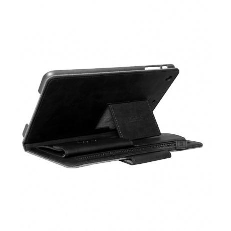 REMAX ochranné pouzdro na iPad Air, kožené, černá - ROZBALENO - BAZAR