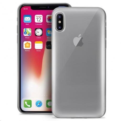 """Puro zadní kryt """"Plasma"""" pro Apple iPhone X, transparentní"""