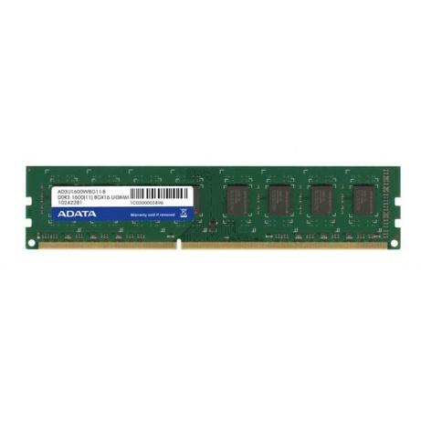 DIMM DDR3 16GB 1600MHz CL11 (KIT 2x8GB) ADATA, 512x8, Retail