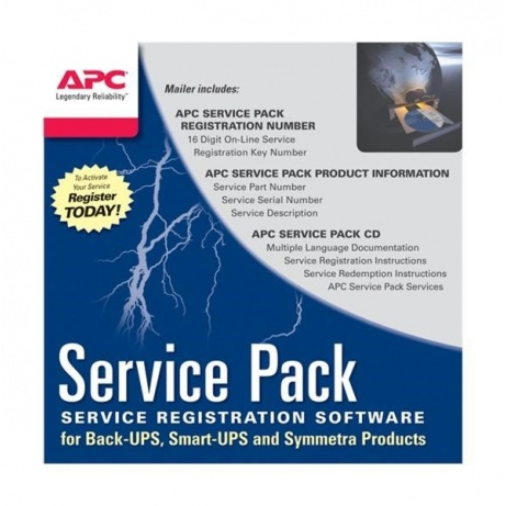 APC 3 Year Service Pack Extended Warranty (for New product purchases), SP-08