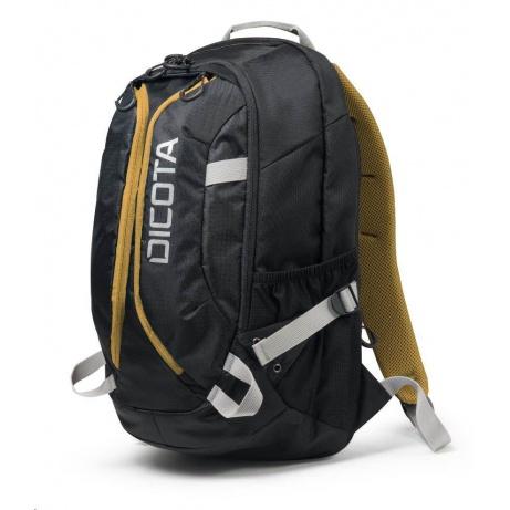 DICOTA Backpack Active 14-15.6, black/yellow