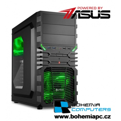 BOHEMIAPC - ASUS Intel i5 4x3.3GHz/8GB DDR4/1TB HDD/GTX1050TI 4GB/ powered by Asus - BCi56400GTX10504G
