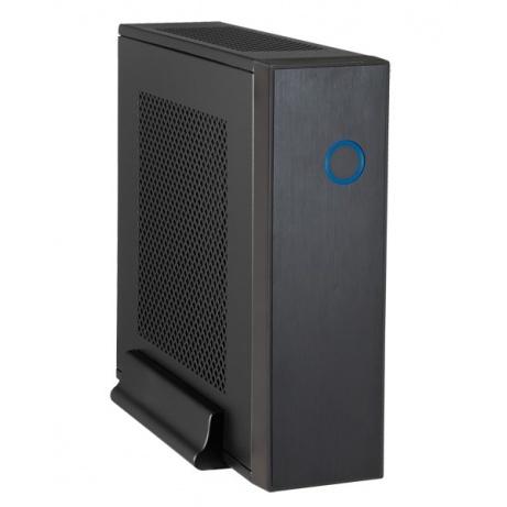 CHIEFTEC skříň Compact Series/mini ITX, IX-03B-OP, Black, Alu, bez zdroje