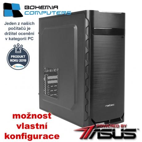 BOHEMIAPC - LEVNÝ HERNÍ RYZEN 3 4X3.9GHZ/ 8GB DDR4/ 480GB SSD/ GT1030 2GB  - POWERED BY ASUS - BCR33100480SSD1030