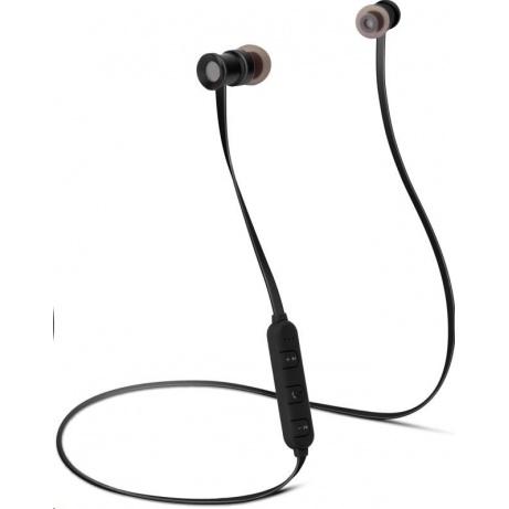 CONNECT IT Wireless Sonics Bluetooth sluchátka do uší s mikrofonem, černá