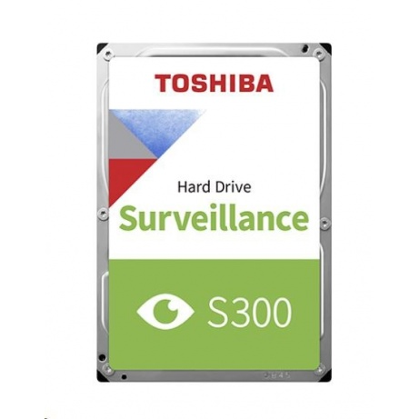 "TOSHIBA HDD S300 Surveillance (CMR) 4TB, SATA III, 7200 rpm, 128MB cache, 3,5"", BULK"