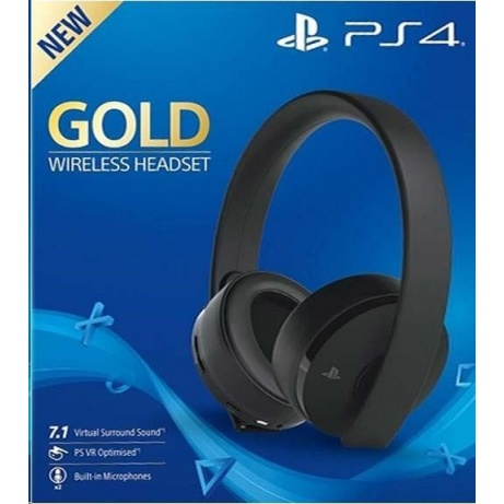 SONY PS4 Wireless Headset - Gold/Black