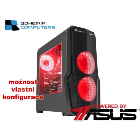 BOHEMIAPC - ASUS herní RYZEN 5 6X3.6GHZ/8GB DDR4/1TB HDD/RX550 4GB/ POWERED BY ASUS - BCR51600rx5504G