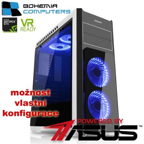 BOHEMIAPC - ASUS STRIX herní INTEL Kaby Lake i5 4X3.5GHZ/ 16GB DDR4/ 1TB HDD/ 240GB SSD/ GTX1060 6GB/ POWERED BY ASUS - BCi57400gtx10606g2