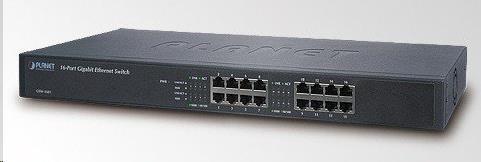 Planet switch GSW-1601, 16x10/100/1000BASE-T