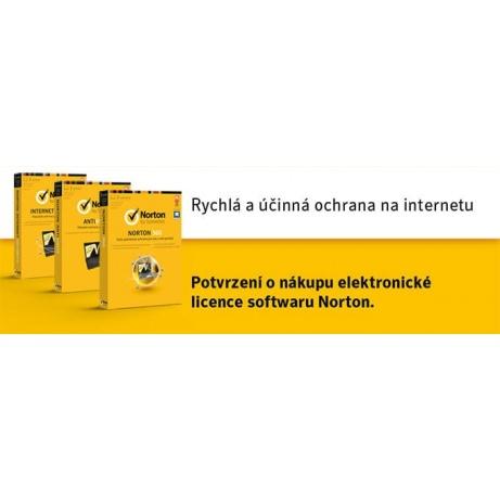 SPECIAL - NORTON SECURITY DELUXE 3.0 CZ  1 uživatel 3 zařízení 1 rok ESD