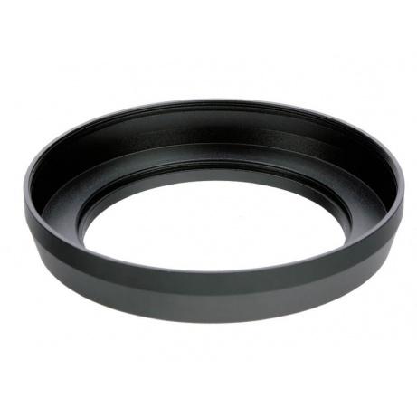 Doerr Širokoúhlá sluneční clona, kovová -  37 mm  (vně stříbrná, Olympus Pen…)