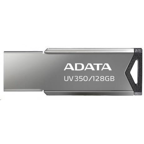 ADATA Flash Disk 64GB UV350, USB 3.2 , kovový šedá