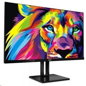 """AOC MT IPS LCD  WLED 21,5"""" 22V2Q - IPS panel, 1920x1080, 250cd/m, 5ms, HDMI, DP, bezrameckovy design"""