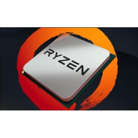 CPU AMD RYZEN 5 1600 AF, 6-core, 3.2 GHz (3.6 GHz Turbo), 16MB cache, 65W, socket AM4 (Wraith cooler)