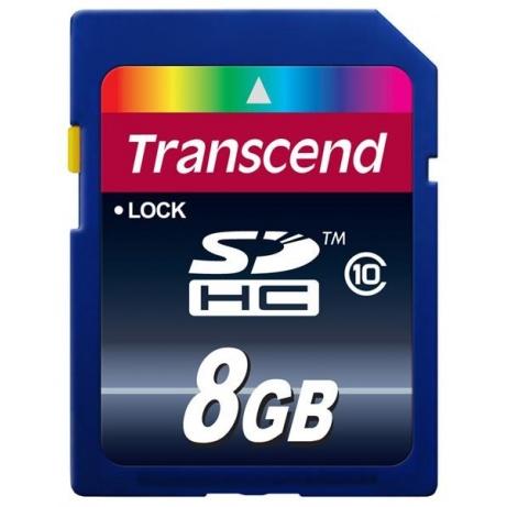TRANSCEND SDHC Class 10 8GB (Premium)