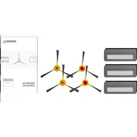 Servisní sada pro Deebot N78D (4x postraní kartáč, 3x vysoce účinný filtr)