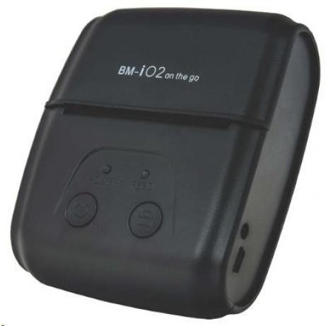 """Birch BM-i02 Mobilní 2"""" tiskárna, BT, USB, RS232 + POUZDRO"""