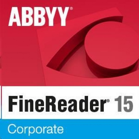 ABBYY FineReader 15 Corporate, Single User License (ESD), UPG, Perpetual