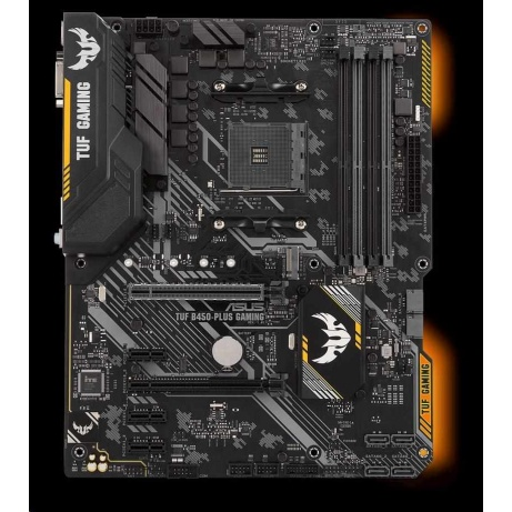 ASUS MB Sc AM4 TUF B450-PLUS GAMING, AMD B450, 4xDDR4, VGA