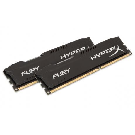 16GB DDR3-1600MHz Kingston HyperX Fury Black,2x8GB