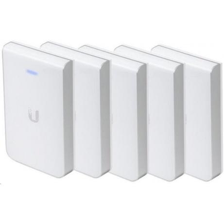 UBNT UniFi AP AC In Wall PRO, 5-PACK [vnitřní AP, 2.4GHz(450Mbps)+5GHz(1300Mbps), 3x3 MIMO, 802.11a/b/g/n/ac]