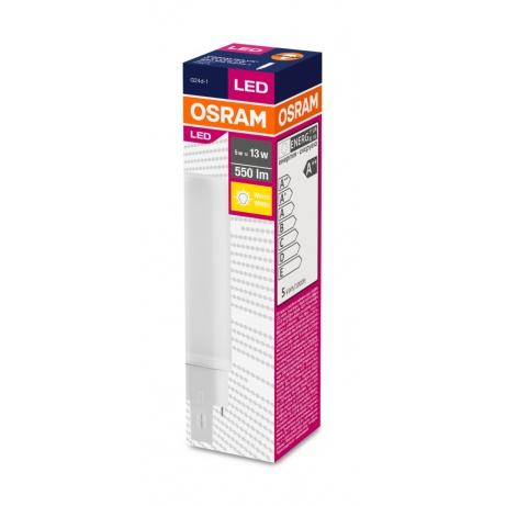 OSRAM DULUX D LED 5W 830 G24d-1 550lm 3000K (CRI >80) 30000h A++ (Krabička 1ks)
