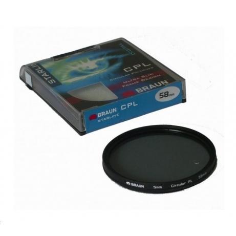 Braun filtr C-PL StarLine 72 mm