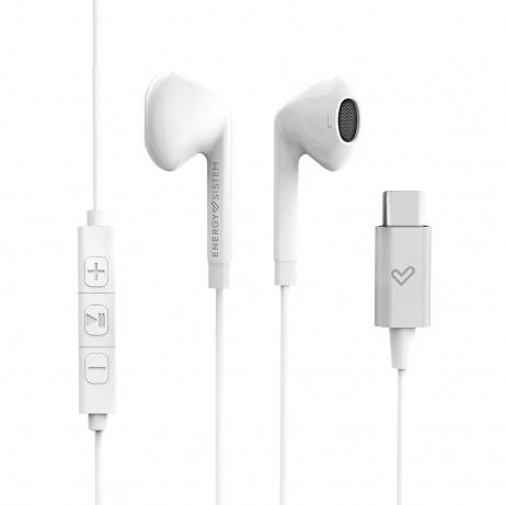 Energy Sistem EP Smart 2 Type C White sluchátka s USB-C konektorem, bílá