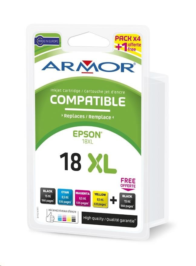 ARMOR cartridge pro EPSON XP102/402 Multipack (2xBlack 1x/C/M/Y )