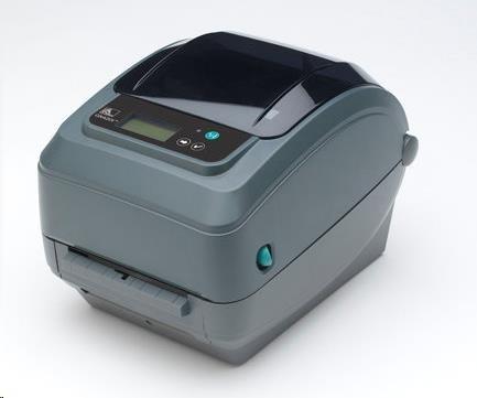 Zebra TT tiskárna GX420T, 203DPI, EPL2, ZPL II, USB, RS232, LAN, odlepovač (PEELER)