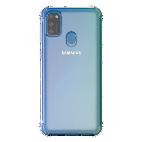 Samsung Poloprůhledný kryt pro Galaxy M21 Transpar