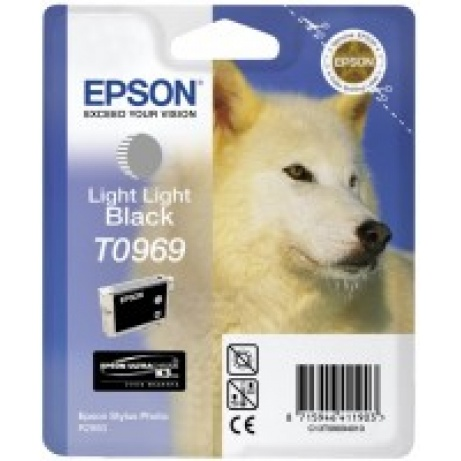 EPSON ink čer Stylus Photo R2880 - light light Black