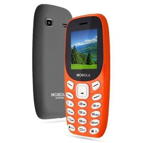 Mobiola MB3000, Dual SIM, Classic phone - oranžový