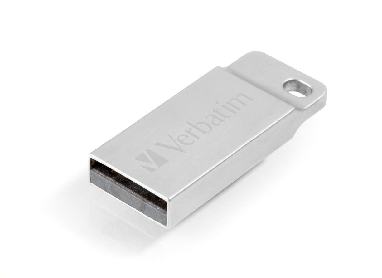 VERBATIM USB Flash Disk METAL EXECUTIVE USB 2.0, 16GB - Silver
