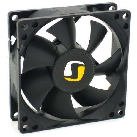 SilentiumPC přídavný ventilátor Zephyr 80/ 80mm fan/ ultratichý 13,9 dBA