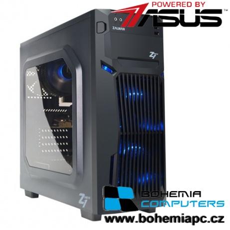 BOHEMIAPC - ASUS Intel i5 4x3.3GHz/8GB DDR4/1TB HDD/GTX 1060 3GB/ powered by Asus - BCi56400GTX10603GW
