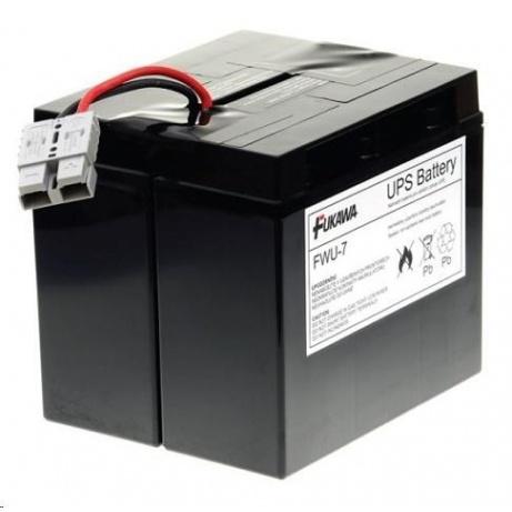 Baterie - FUKAWA FWU-7 náhradní baterie za RBC7 (12V/18Ah), životnost 5let