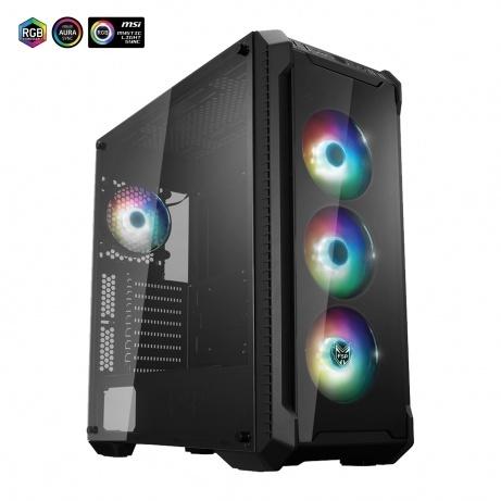 BOHEMIAPC - TOP HERNÍ AMD Ryzen 5 3600/ 16GB DDR4/ 512GB SSD - 2TB HDD/ ASUS STRIX RTX3060 12GB- POWERED BY ASUS STRIX - BCr53600RTX3060