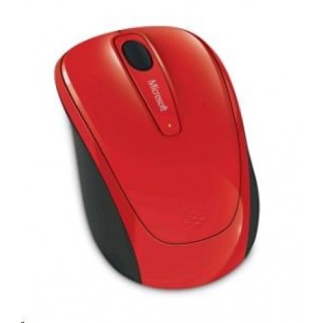 Microsoft myš L2 Wireless Mobile Mouse 3500 Mac/Win USB Flame Red Gloss