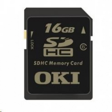 OKI Paměťová karta SDHC 16 GB pro C822/C823/C831/C833/C841/C843