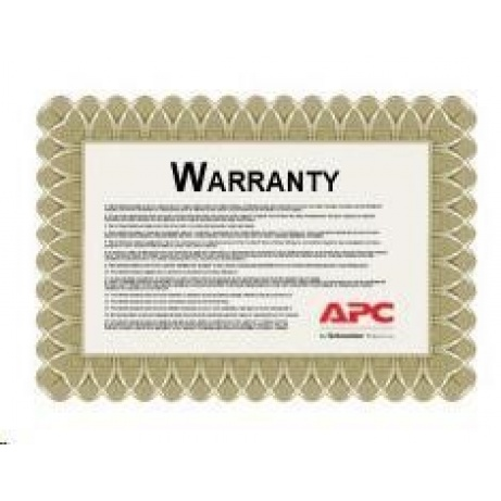 APC 1 Year Extended Warranty (Renewal or High Volume), SP-02