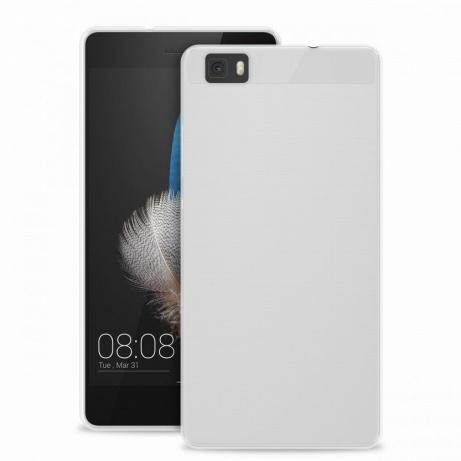 """Puro zadní kryt pro Huawei P8 Lite ULTRA-SLIM """"0.3"""" s fólií na displej, transparentní"""
